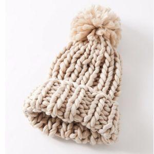 Urban outfitters Chunky Knit Pom Beanie